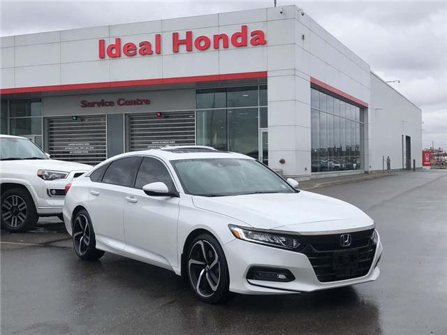 2018 Honda Accord Sport (Stk: I190343A) in Mississauga - Image 1 of 20