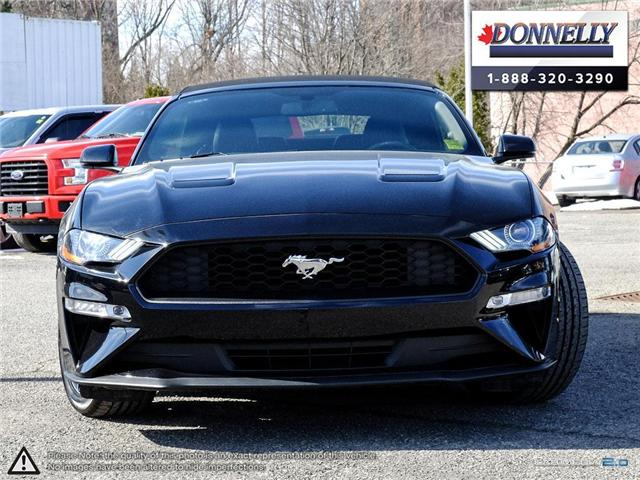 2018 Ford Mustang EcoBoost Premium (Stk: PLDUR6088) in Ottawa - Image 2 of 28
