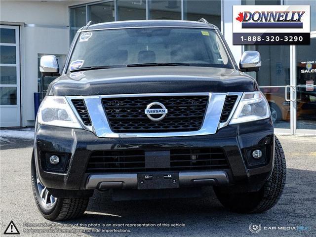 2019 Nissan Armada  (Stk: PLDUR6083) in Ottawa - Image 2 of 28