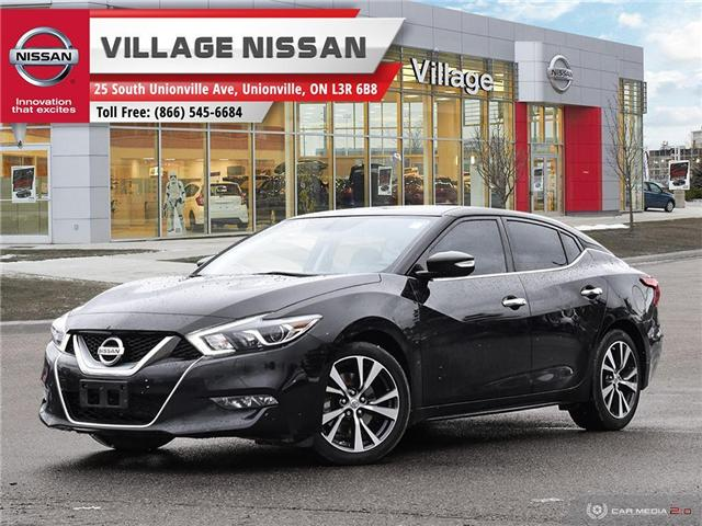 2016 Nissan Maxima SV (Stk: P2783) in Unionville - Image 1 of 27