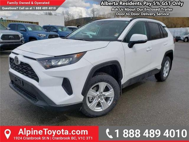 2019 Toyota RAV4 LE (Stk: W041295) in Cranbrook - Image 1 of 17