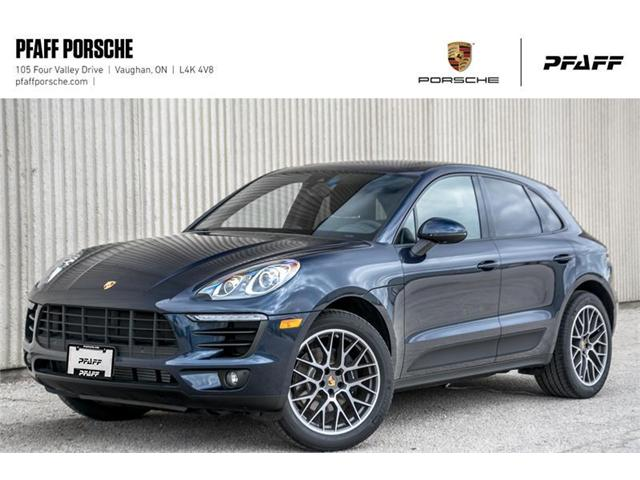 2018 Porsche Macan Sport Edition (Stk: P13944) in Vaughan - Image 1 of 22