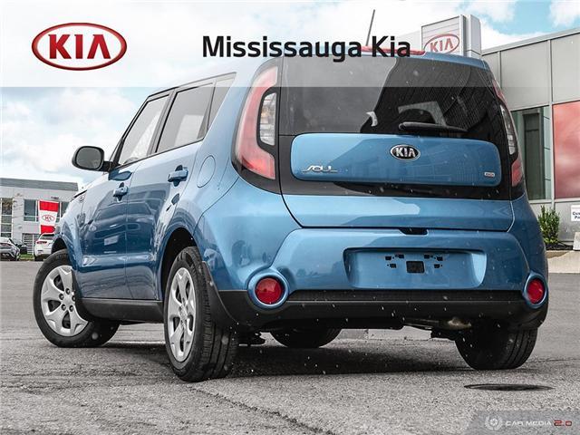 2015 Kia Soul LX (Stk: SL19056DT) in Mississauga - Image 4 of 27