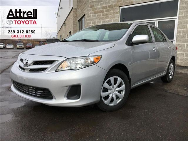 2012 Toyota Corolla CE C PKG ONE OWNER PKG POWER GROUP, CRUISE CONTROL (Stk: 8607) in Brampton - Image 1 of 25