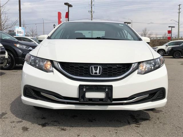 2015 Honda Civic LX (Stk: 190632P) in Richmond Hill - Image 2 of 17