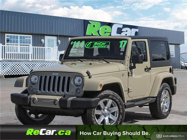 2017 Jeep Wrangler Sahara (Stk: 190416A) in Fredericton - Image 1 of 25