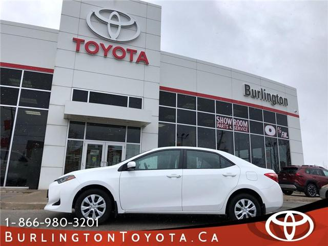 2017 Toyota Corolla CE (Stk: U10640) in Burlington - Image 1 of 18