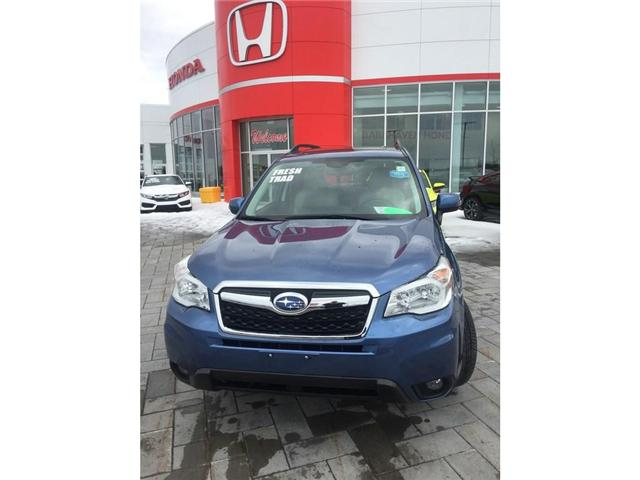 2016 Subaru Forester 2.5i Touring Package (Stk: B0213) in Ottawa - Image 2 of 11