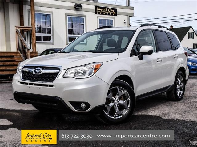 2015 Subaru Forester 2.5i Limited Package (Stk: 542410) in Ottawa - Image 1 of 30