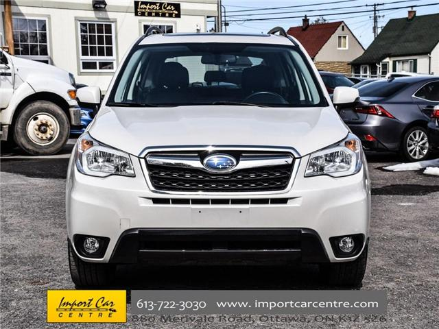 2015 Subaru Forester 2.5i Limited Package (Stk: 542410) in Ottawa - Image 2 of 30