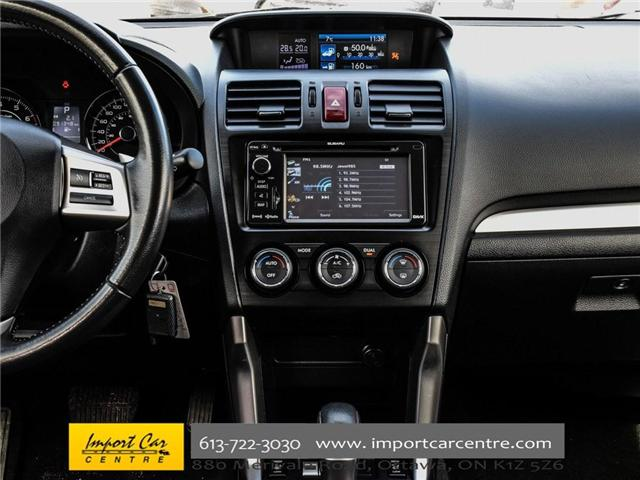 2015 Subaru Forester 2.5i Limited Package (Stk: 542410) in Ottawa - Image 25 of 30