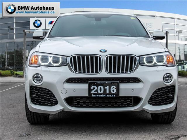 2016 BMW X4 xDrive28i (Stk: 19449A) in Thornhill - Image 2 of 27