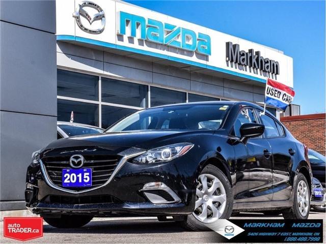 2015 Mazda Mazda3 GX (Stk: P1849) in Markham - Image 1 of 22
