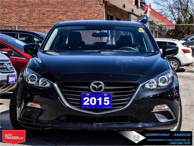 2015 Mazda Mazda3 GX (Stk: P1849) in Markham - Image 2 of 22