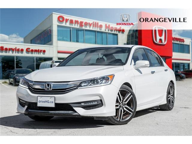 2017 Honda Accord Sport (Stk: C19002A) in Orangeville - Image 1 of 21
