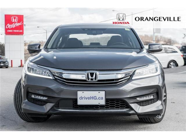 2017 Honda Accord Touring V6 (Stk: U3121) in Orangeville - Image 2 of 21
