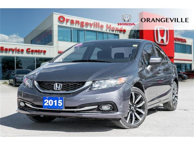 2015 Honda Civic Touring (Stk: U3134A) in Orangeville - Image 1 of 22
