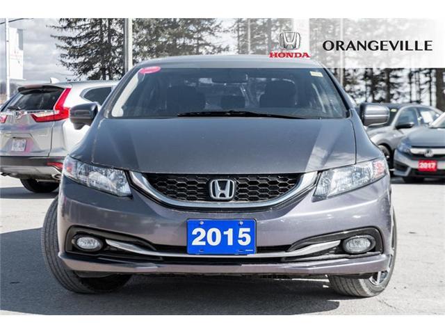 2015 Honda Civic Touring (Stk: U3134A) in Orangeville - Image 2 of 22