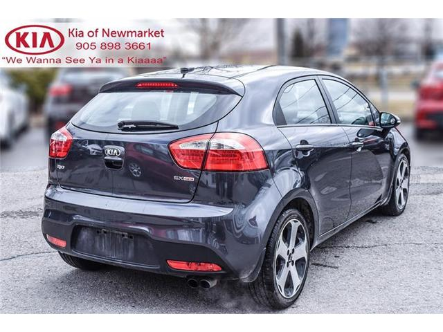 2014 Kia Rio SX (Stk: P0786A) in Newmarket - Image 5 of 21