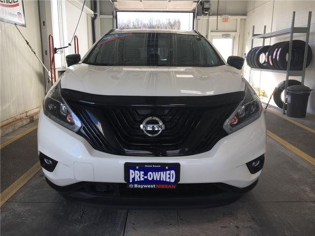 2018 Nissan Murano Midnight Edition (Stk: P0644) in Owen Sound - Image 2 of 11