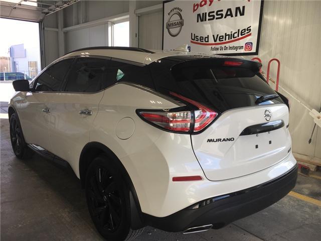 2018 Nissan Murano Midnight Edition (Stk: P0644) in Owen Sound - Image 3 of 11