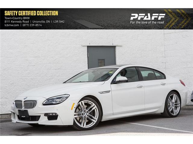 2016 BMW 650i xDrive Gran Coupe (Stk: A11874) in Markham - Image 1 of 18
