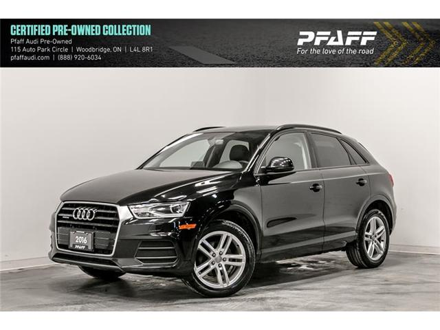 2016 Audi Q3 2.0T Komfort (Stk: C6680) in Woodbridge - Image 1 of 22