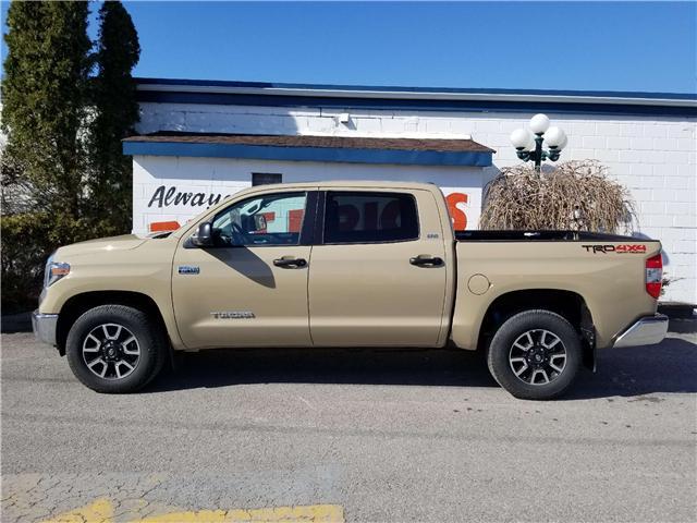 2018 Toyota Tundra SR5 Plus 5.7L V8 (Stk: 19-142) in Oshawa - Image 4 of 14