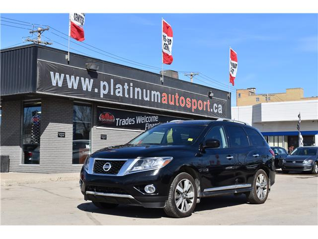 2014 Nissan Pathfinder Platinum (Stk: t36035) in Saskatoon - Image 1 of 30