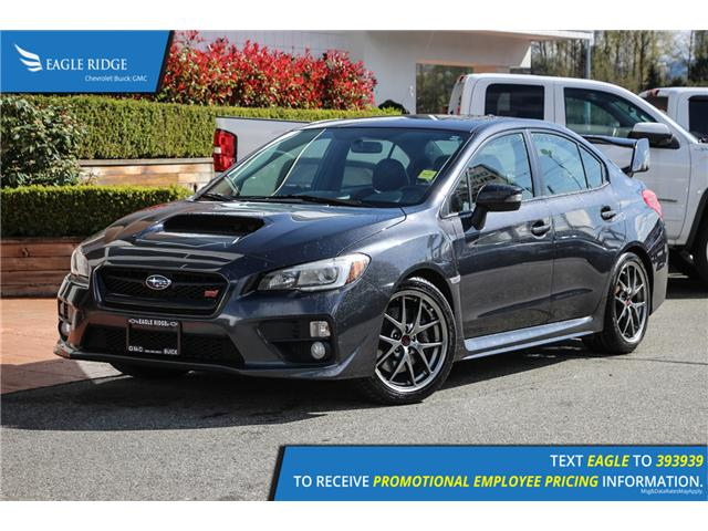 2016 Subaru WRX STI Sport-tech Package (Stk: 169370) in Coquitlam - Image 1 of 19