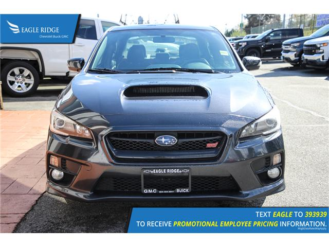2016 Subaru WRX STI Sport-tech Package (Stk: 169370) in Coquitlam - Image 2 of 19