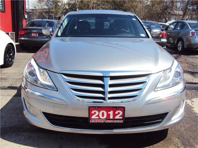 2012 Hyundai Genesis 3.8 Premium (Stk: ) in Ottawa - Image 2 of 30