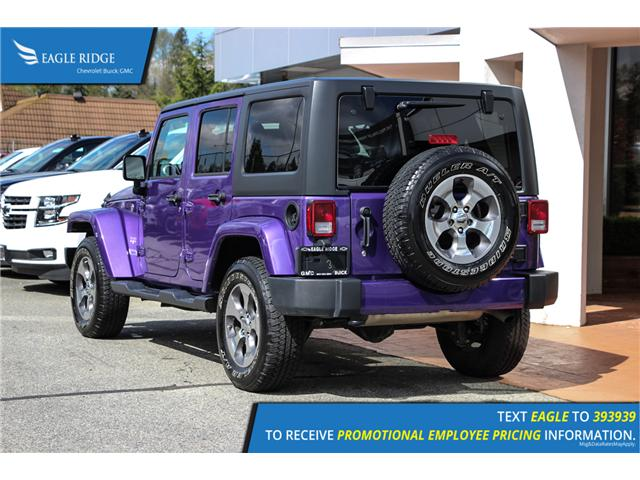 2018 Jeep Wrangler JK Unlimited Sahara (Stk: 189260) in Coquitlam - Image 4 of 15