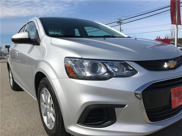 2017 Chevrolet Sonic LT Auto (Stk: P158446) in Saint John - Image 9 of 32
