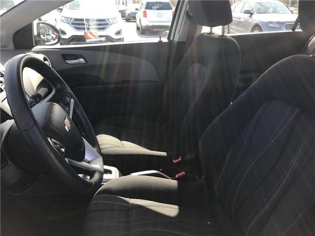 2017 Chevrolet Sonic LT Auto (Stk: P158446) in Saint John - Image 12 of 32