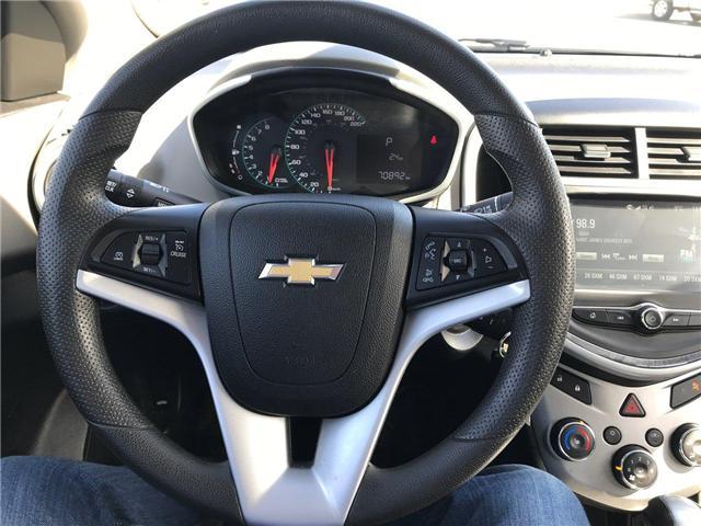 2017 Chevrolet Sonic LT Auto (Stk: P158446) in Saint John - Image 14 of 32