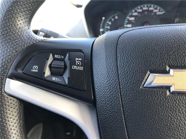 2017 Chevrolet Sonic LT Auto (Stk: P158446) in Saint John - Image 16 of 32
