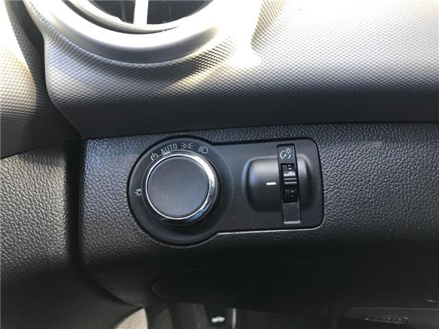 2017 Chevrolet Sonic LT Auto (Stk: P158446) in Saint John - Image 18 of 32