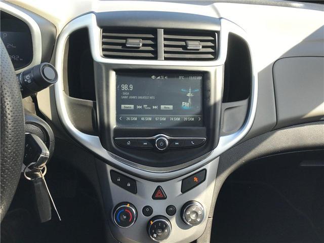 2017 Chevrolet Sonic LT Auto (Stk: P158446) in Saint John - Image 19 of 32