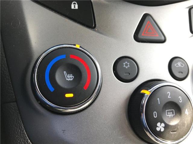 2017 Chevrolet Sonic LT Auto (Stk: P158446) in Saint John - Image 21 of 32
