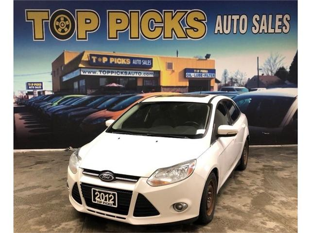 2012 Ford Focus SEL (Stk: 364675) in NORTH BAY - Image 1 of 23