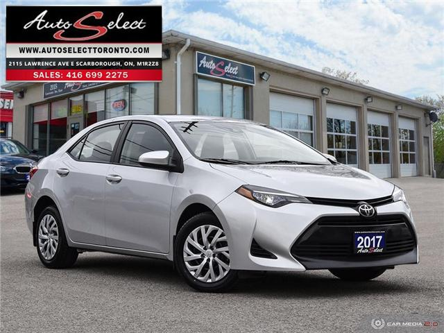 2017 Toyota Corolla  (Stk: 1TC79T2) in Scarborough - Image 1 of 28