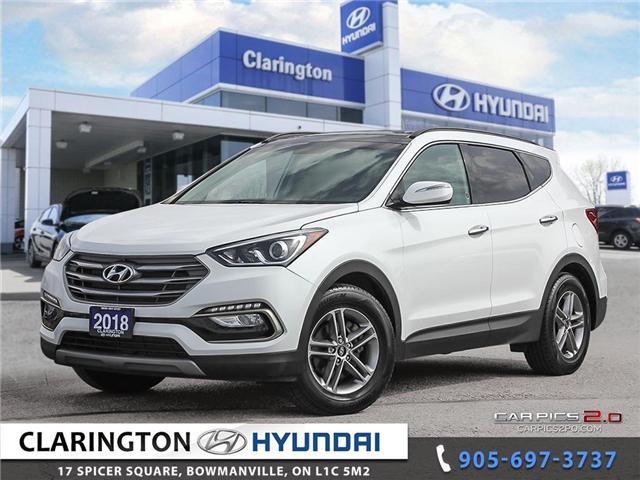 2018 Hyundai Santa Fe Sport 2.4 Luxury (Stk: 18594A) in Clarington - Image 1 of 27