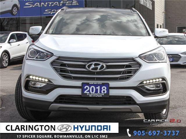 2018 Hyundai Santa Fe Sport 2.4 Luxury (Stk: 18594A) in Clarington - Image 2 of 27
