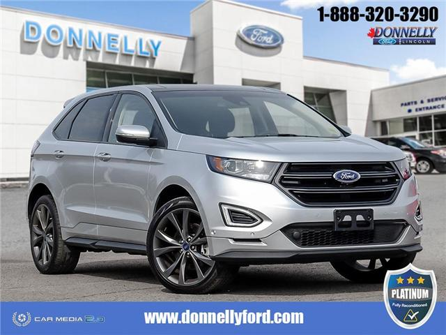 2018 Ford Edge Sport (Stk: PLDUR6086) in Ottawa - Image 1 of 28