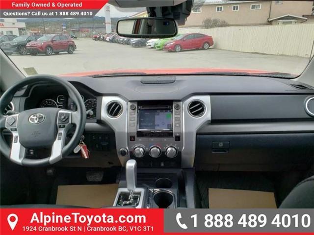 2018 Toyota Tundra SR5 Plus 5.7L V8 (Stk: X751304) in Cranbrook - Image 11 of 17
