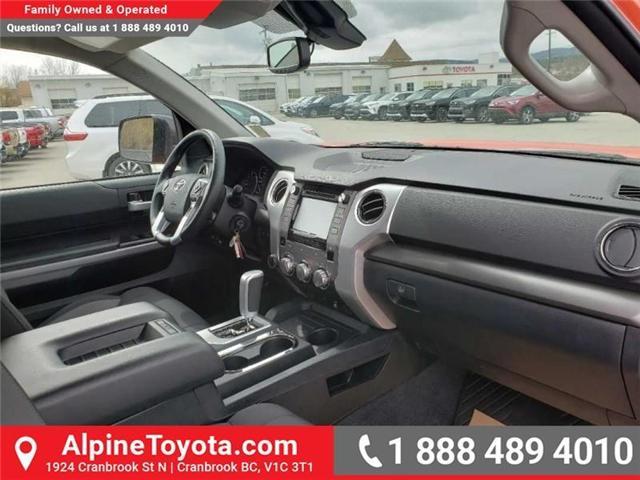 2018 Toyota Tundra SR5 Plus 5.7L V8 (Stk: X751304) in Cranbrook - Image 12 of 17