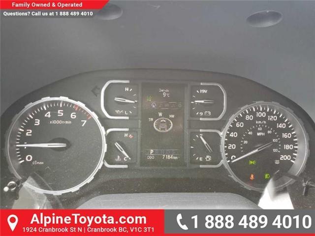 2018 Toyota Tundra SR5 Plus 5.7L V8 (Stk: X751304) in Cranbrook - Image 16 of 17