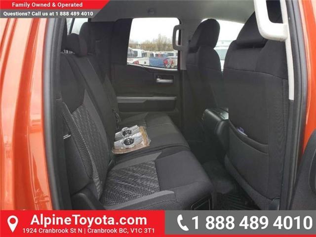2018 Toyota Tundra SR5 Plus 5.7L V8 (Stk: X751304) in Cranbrook - Image 17 of 17