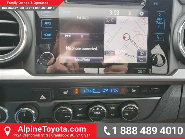 2019 Toyota Tacoma SR5 V6 (Stk: X042735) in Cranbrook - Image 12 of 17